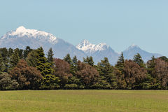 Kaikoura ranges in Southern Alps in New Zealand Royalty Free Stock Photography