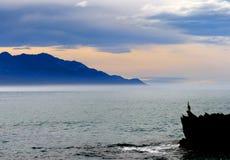 Kaikoura seascape. FZ200 Stock Photo