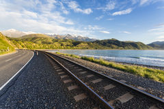 Kaikoura State Highway, NZ Royalty Free Stock Photography
