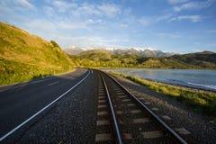Kaikoura State Highway, NZ Stock Photo