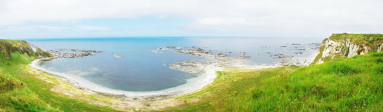 Kaikoura shore, New Zealand Stock Photography