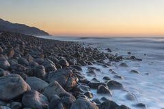 Kaikoura wschód słońca zdjęcia stock