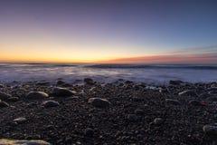 Kaikoura wschód słońca Fotografia Royalty Free