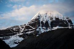 Kailas Himalayas Mountain Tibet Home Lord Shivas Lizenzfreie Stockbilder