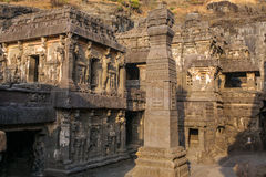 Kailas temple in Ellora caves complex, India Stock Photo
