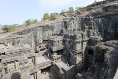 Kailas Temple in Ellora, Maharashtra state Stock Photo