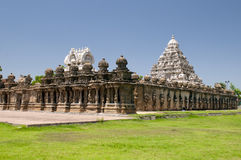 kailasanathar寺庙 免版税图库摄影