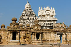 Kailasanathar Hindu Temple in Tamil Nadu state in India Royalty Free Stock Photography