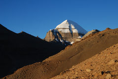 Kailash. A  very close  vision of  Kailash Royalty Free Stock Photos