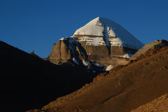Kailash. A  very close  vision of  Kailash Royalty Free Stock Images