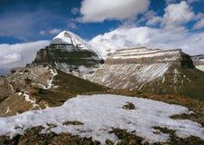 Kailash. Het centrum van de wereld Stock Fotografie