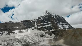 Kailash Mount, koratijd van Dharma King Norsang van de het westenspiegel lase stock videobeelden