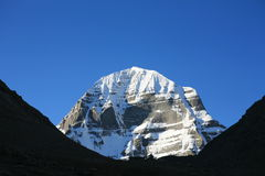 Kailash Mountain Royalty Free Stock Photo