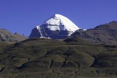 kailashmontering tibet arkivbilder