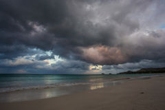 Kailua海滩奥阿胡岛夏威夷 库存照片