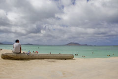 Kailua Beach Stock Photos