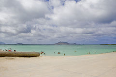 Kailua Beach Stock Photography