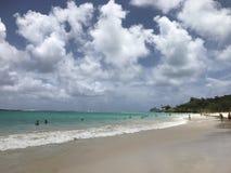 Kailua Beach, Oahu. A beautiful day on a beautiful beach Royalty Free Stock Image