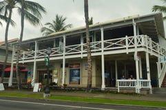 Kailua Kona Building. Stock Photo