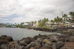 Kailua Kona, Hawaï Stock Foto's
