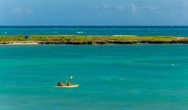 Kailua strand Arkivfoto
