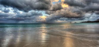 Kailua strand Hawaii Royaltyfri Fotografi