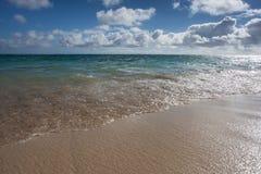 Kailua strand Oahu Hawaii Arkivfoto