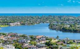 Kailua Zaczarowani jeziora Obrazy Royalty Free