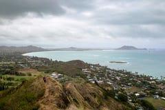 Kailua zatoka, Oahu Obraz Royalty Free