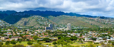 Kaimuki Neighborhood, Oahu Hawaii Stock Photos