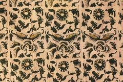 Kain batik od Bali Indonesi Zdjęcie Royalty Free