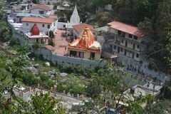Kainchi Dham stock photo