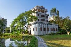 Kaiping Diaolou και χωριά Στοκ Εικόνες