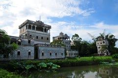 Kaiping Diaolou, Китай Стоковое Изображение RF