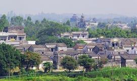 Kaiping Diaolou e vilas em China Fotografia de Stock