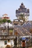 Kaiping Diaolou e vilas em China Imagens de Stock Royalty Free