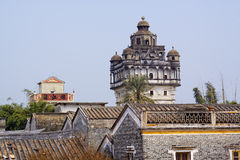 Kaiping Diaolou e vilas em China Foto de Stock