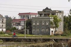 Kaiping Diaolou et villages en Chine Photos libres de droits