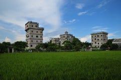 Kaiping Diaolou, Kina Royaltyfri Foto