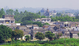 Kaiping Diaolou and Villages in China Stock Photography