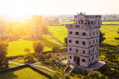 Kaiping Diaolou and Villages in China Royalty Free Stock Photo