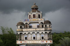 Kaiping Diaolou and villages-House-fortress Stock Photos