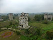 The Kaiping Diaolou (watchtowers) in Guangdong province in China Stock Photo