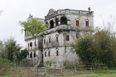 Kaiping Watchtowers. In the field royalty free stock image