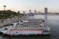 Kair przyjęcia łodzie Zdjęcia Stock