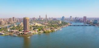 Kair Rzecznym Nil Fotografia Stock