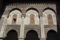 Kairaouine meczet fes Morocco africa Obrazy Stock