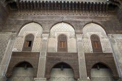 Kairaouinemoskee Fes Marokko afrika Stock Foto