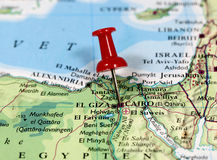 Kairo in Ägypten Lizenzfreies Stockbild