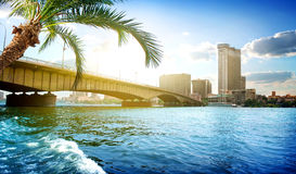 Kairo-Brücke Lizenzfreie Stockfotografie